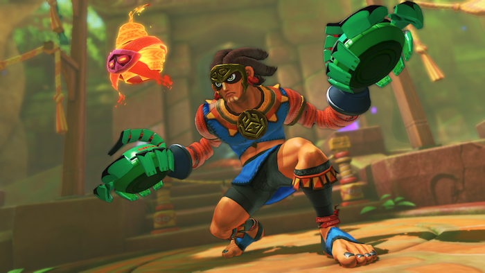 Nintendo Switch ARMS new character Misango