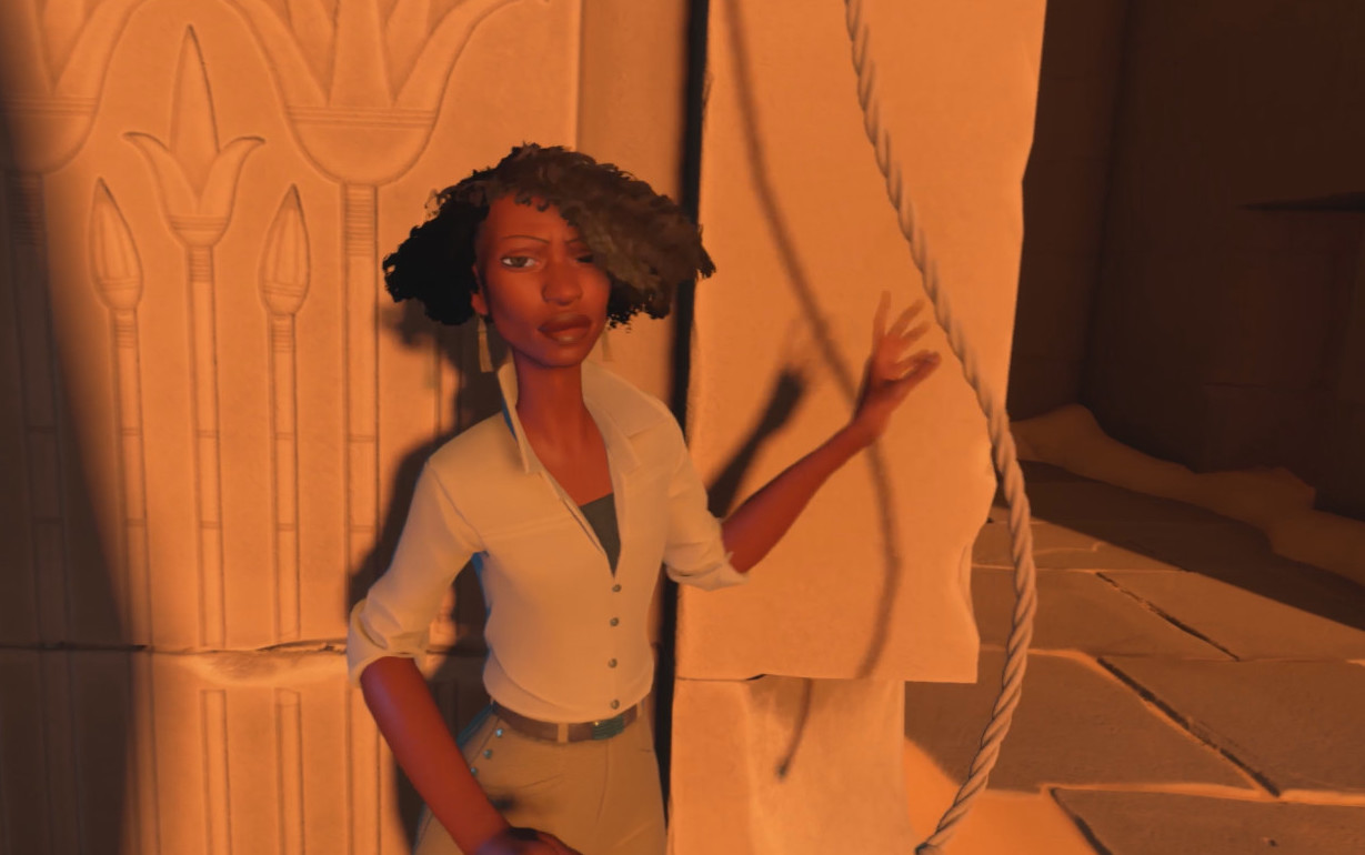 Campo Santo In the Valley of Gods black female protagonist