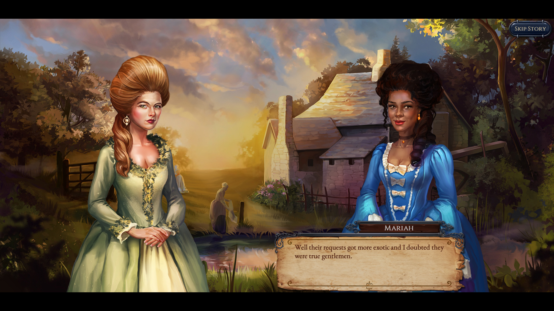 Shadowhand game inclusive characters screenshot
