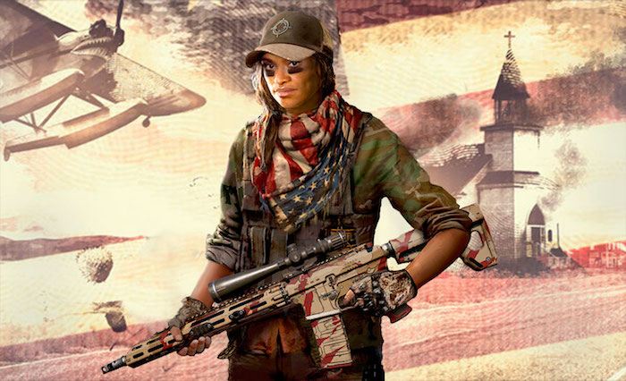 Far Cry 5 female character Grace