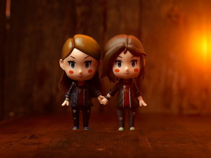 Life is Strange Before the Storm Chloe and Rachel figurines