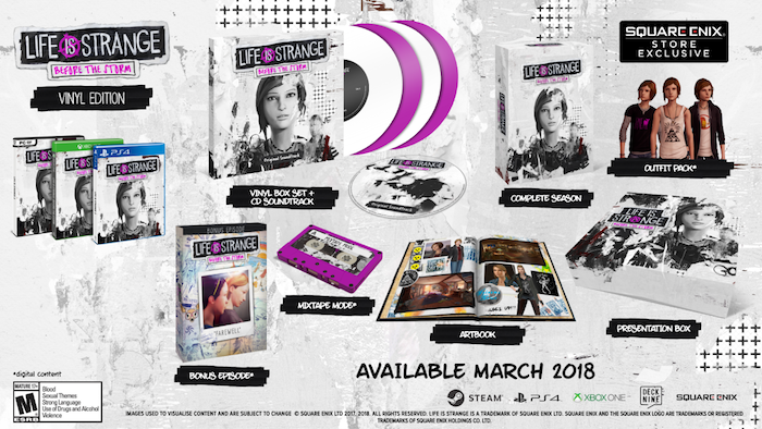 Life is Strange Before the Storm boxed edition release date