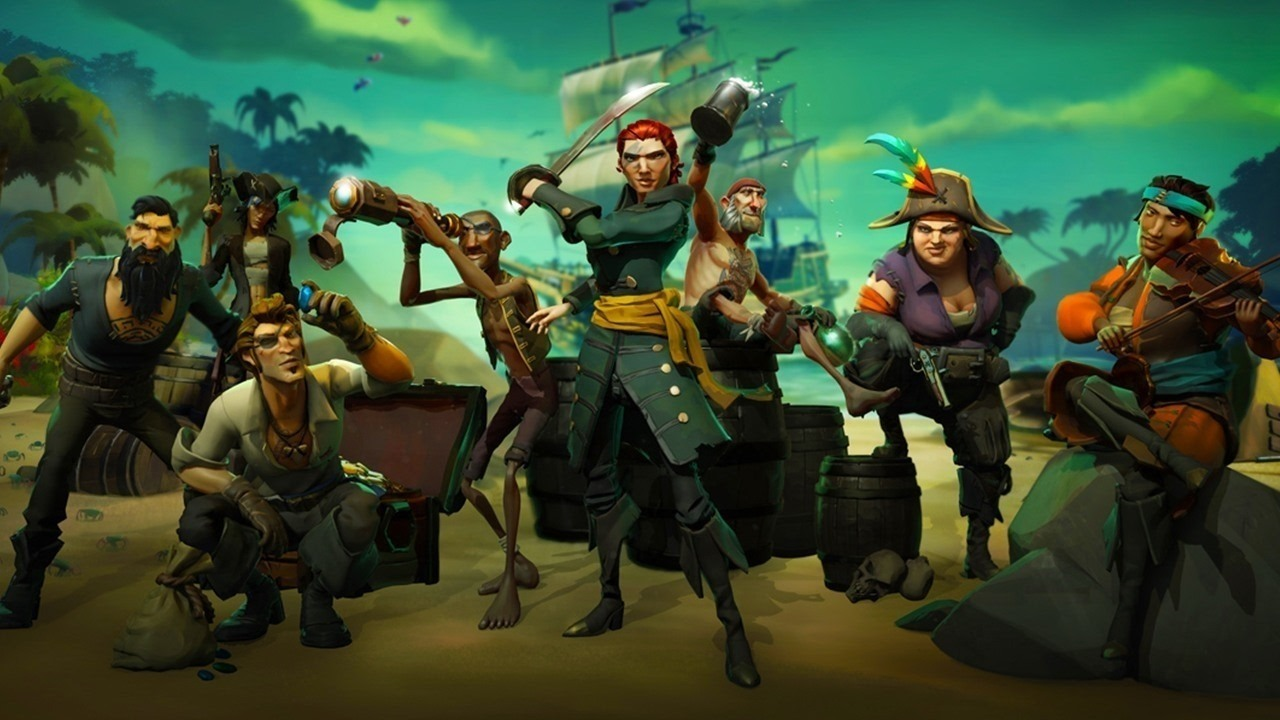 Sea of Thieves female characters