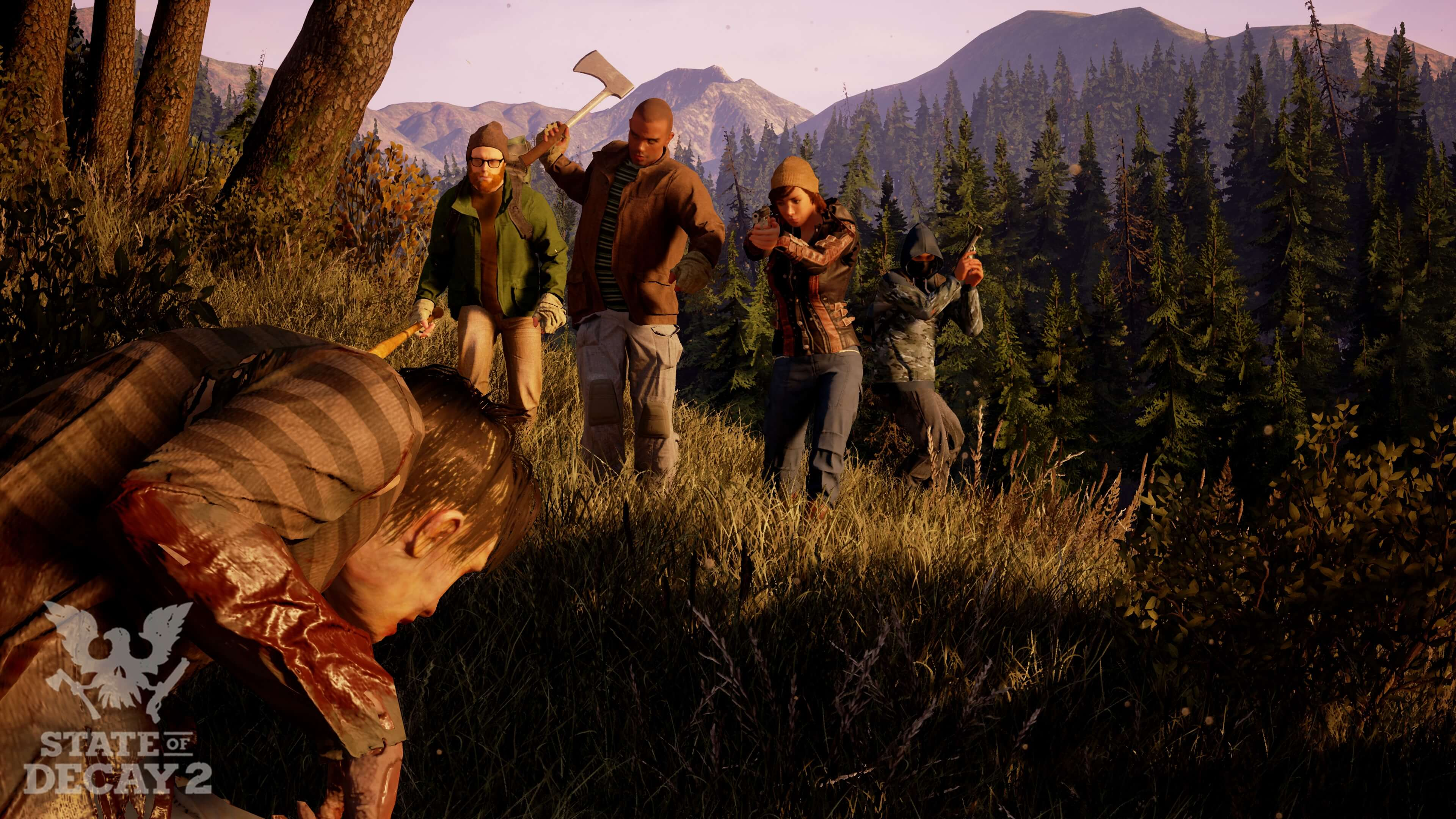 State of Decay 2 female characters