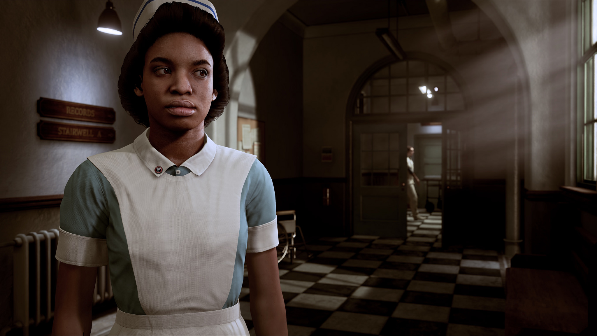 The Inpatient game female protagonist