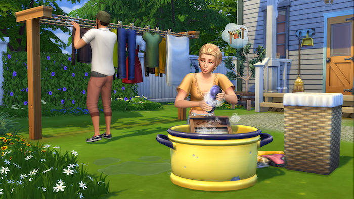 The Sims 4 Laundry Day Stuff pack release date