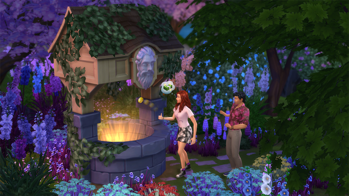 The Sims 4 witches magic expansion pack DLC tease
