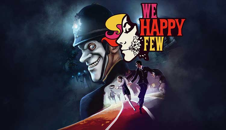 We Happy Few female character Sally tease