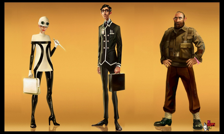 We Happy Few playable characters