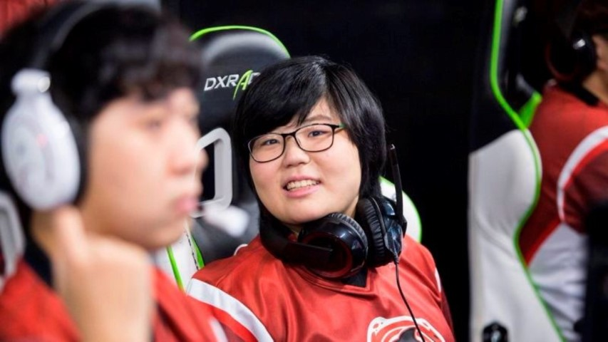 The Overwatch League has its first female player
