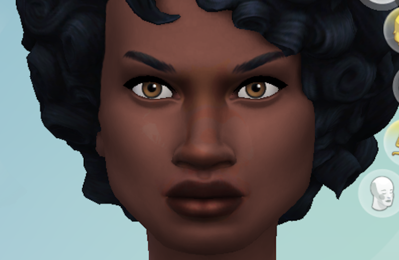 The Sims 4 skin tone issues