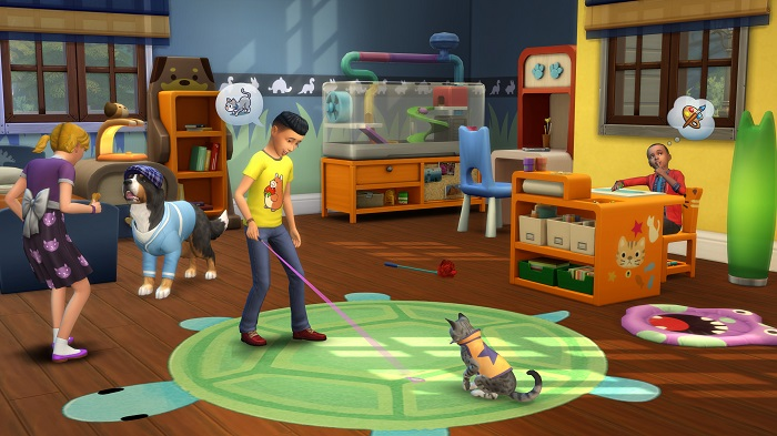 When Does Sims  Cats And Dogs Release