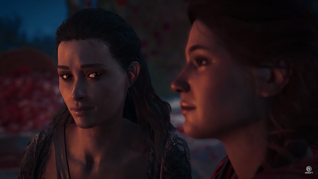 Assassin S Creed Odyssey Kassandra And Kyra Romance Gameplay Jsx